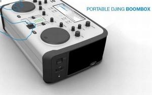 portable djing boombox
