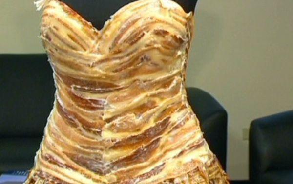 The 100 percent bacon stringlet dress