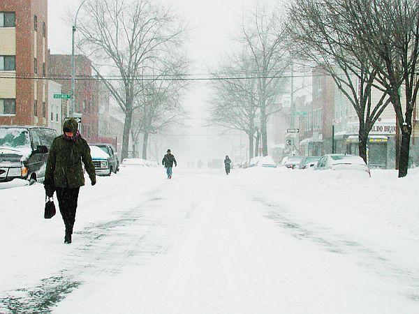 President's Day Snow Storm II, New York City 2003