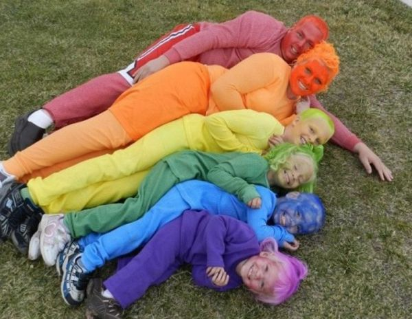 The Colorful family
