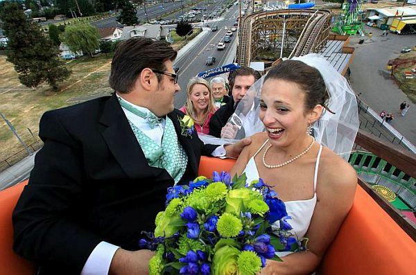The Roller Coaster Wedding