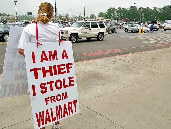 The Walmart thief