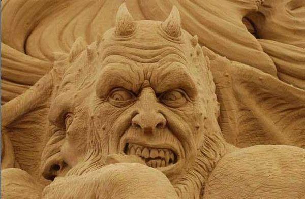 The sand devil