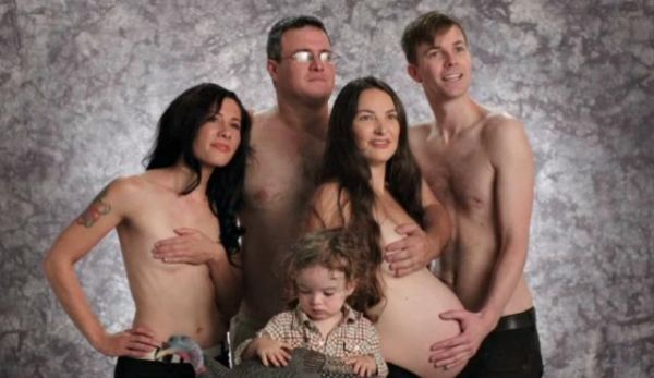 The topless family