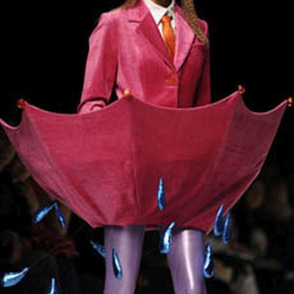 The umbrella inspired skirt