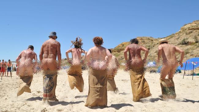 Maslin Beach Nude Olympics