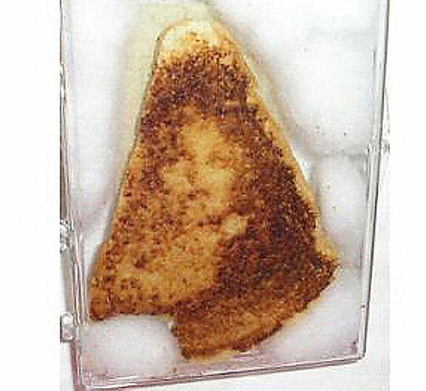 Partially eaten sandwich