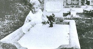 ghost baby that appeared near the grave of a 17-year-old girl