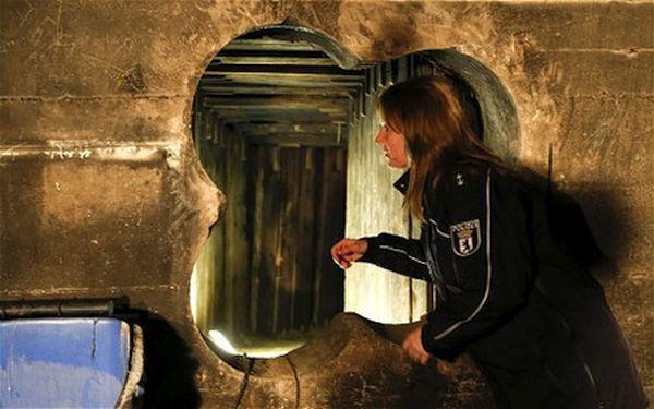 Bank Robbery Tunnel Berlin