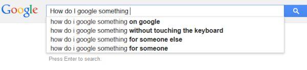 How do I google something