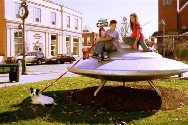Mars spaceship Pennsylvania