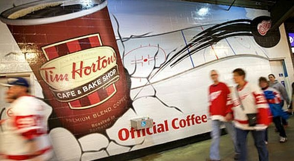 Tim Hortons is a chain of café located in the United States