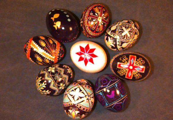 Ukranian Pysanka Easter Eggs