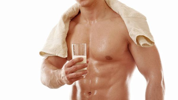 Bodybuilders start taking Breast Milk for a healthier body