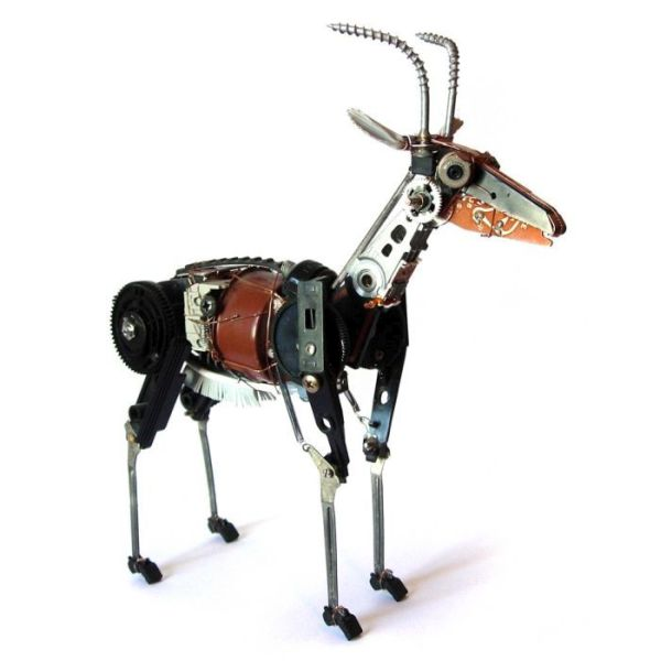 Electronic Pet and Animal Sculptures