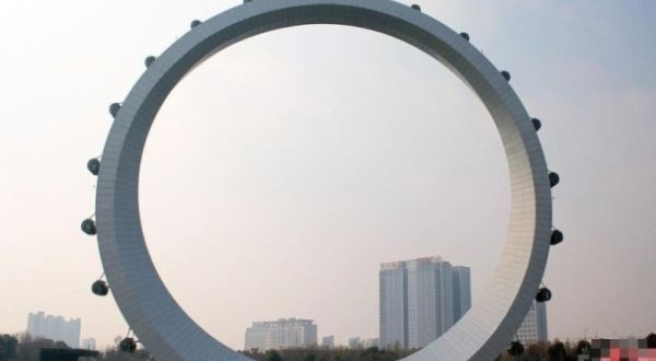 Spoke less Ferris wheel, China