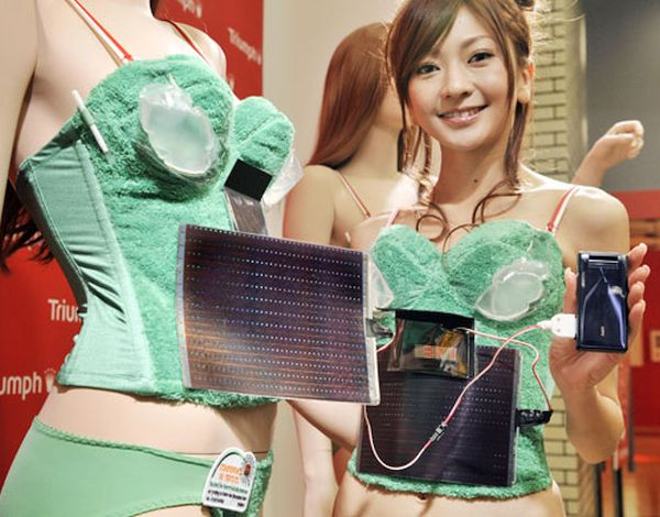 Photovoltaic-Powered Bra