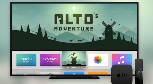 Apple TV with apps