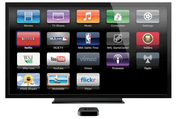 Apple TV with apps1
