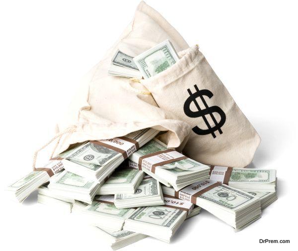 charity money