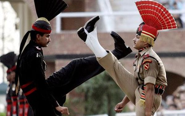 India and Pakistan's Wagah Border Ritual