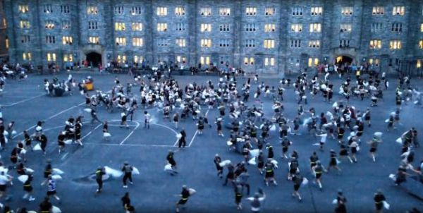 West Point Pillow Fights