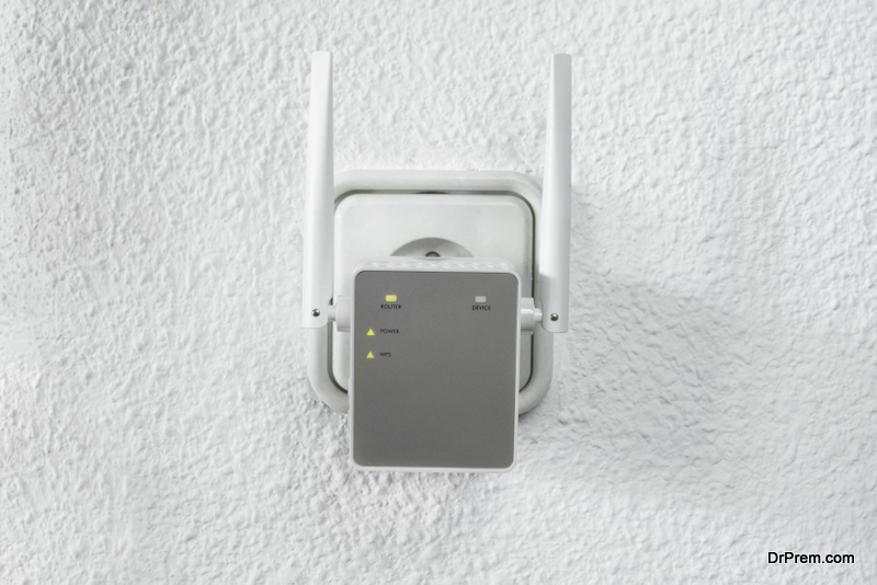 Consider wireless range extender