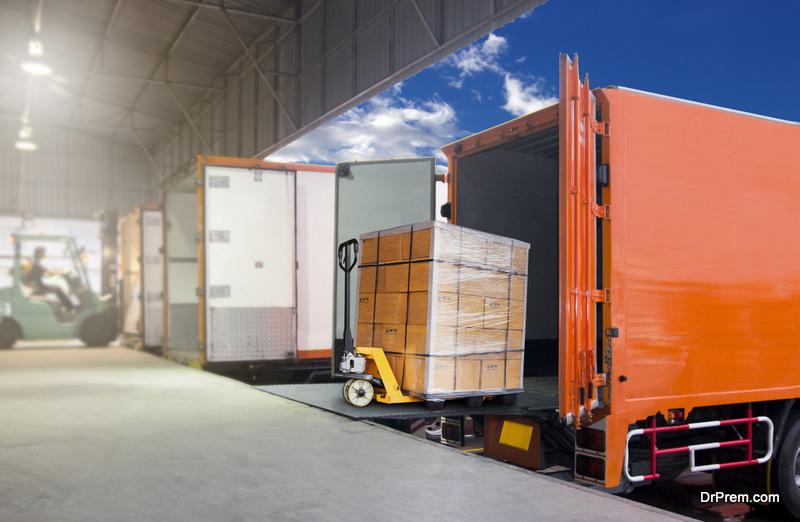 Partial truck load