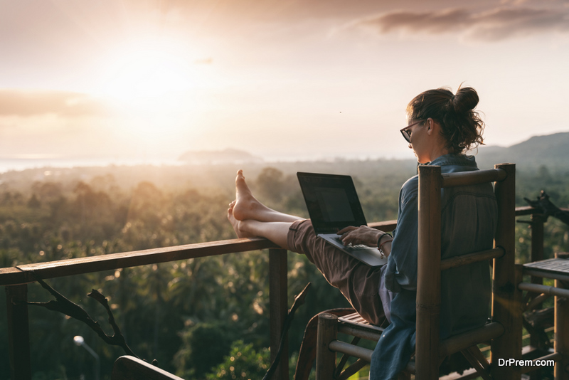 De-Stressing, Working Remotely, and Finding Your Own Way