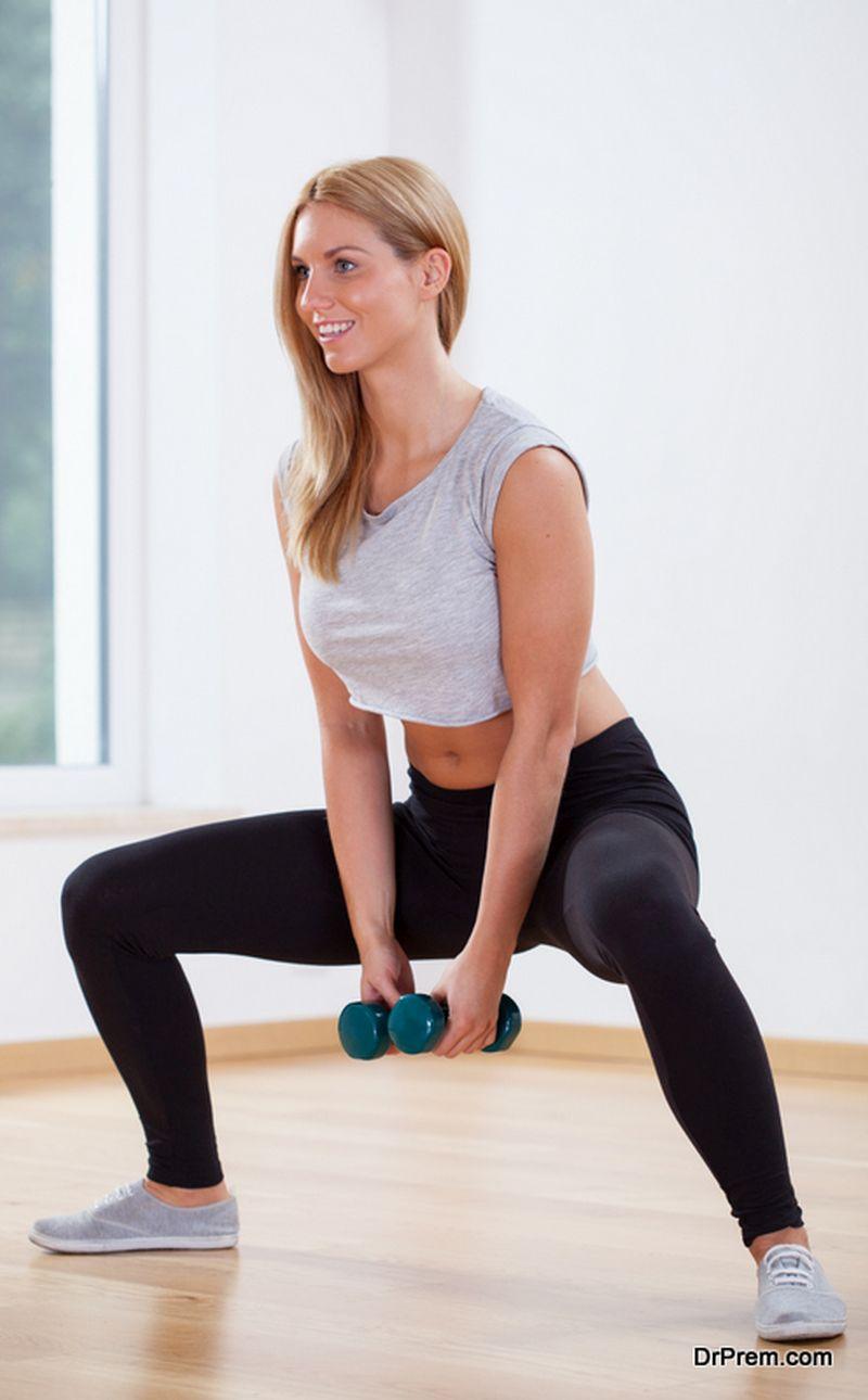 Full Body Dumbbell Exercise